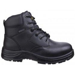 Amblers FS006C Black Metal Free Waterproof Safety Boots