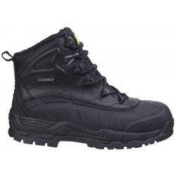 Amblers FS430BLK Waterproof Safety Boots