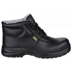 Amblers FS663 Black Metal Free Safety Boots