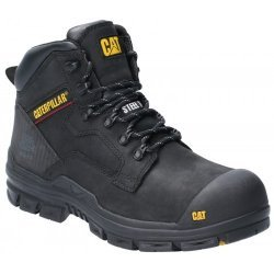 CAT Bearing Black S3 Safety Boots