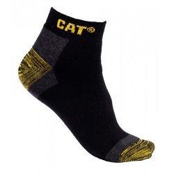 CAT Sneaker Black Socks 3 Pair Pack
