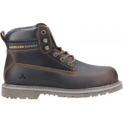 Amblers FS164 Brown Welted Safety Boots