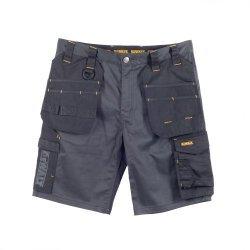 DeWalt Ferguson Black Grey Stretch Shorts