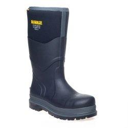 DeWalt Hobart Black/Grey Wellington Boots