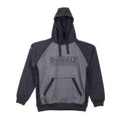 DeWalt Stratford Grey Black Hooded Sweatshirt