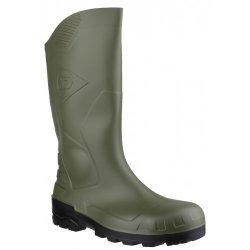 Dunlop Devon Green Black Safety Wellingtons