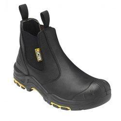 JCB Black Dealer Boots