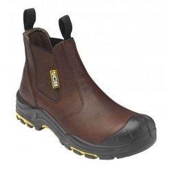 JCB Brown Dealer Boots