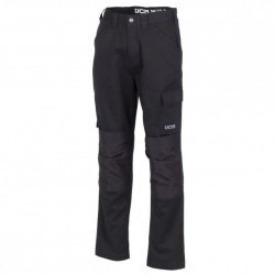 JCB Essential Cargo Trousers Black