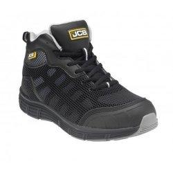 JCB Hydradig Black Midcut Safety Boots