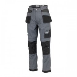 JCB Trade Plus Ripstop Trousers Grey
