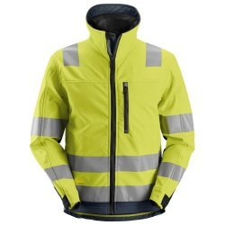 Snickers 1230 Class 3 Hi Vis Softshell Jacket