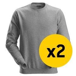 Snickers 2x 2810 Sweatshirt Bundle