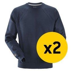 Snickers 2x 2812 Sweatshirt Bundle