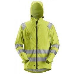 Snickers 8233 Hi-Vis PU Rain Jacket Class 3