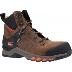 Timberland Pro Hypercharge Leather Brown Safety Boots
