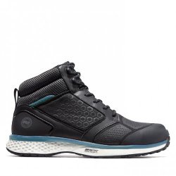 Timberland Pro Reaxion Black Blue Safety Boots