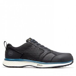 Timberland Pro Reaxion Black Blue Safety Trainers