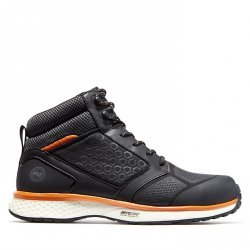 Timberland Pro Reaxion Black Orange Safety Boots