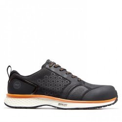 Timberland Pro Reaxion Black Orange Safety Trainers