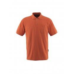 Mascot CROSSOVER Polo Shirt with chest pocket - Dark Orange