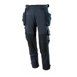 Mascot ADVANCED Trousers with kneepad pockets and holster pockets  - Dark Navy