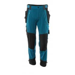 Mascot ADVANCED Trousers with kneepad pockets and holster pockets  - Dark Petroleum