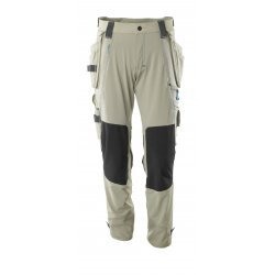 Mascot ADVANCED Trousers with kneepad pockets and holster pockets  - Light Khaki