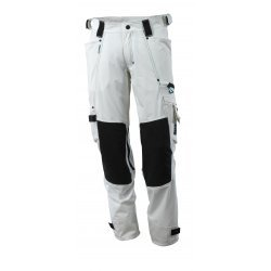 Mascot ADVANCED Trousers with kneepad pockets - White