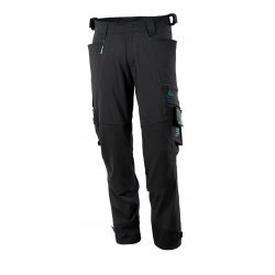 Mascot ADVANCED Trousers with kneepad pockets - Black