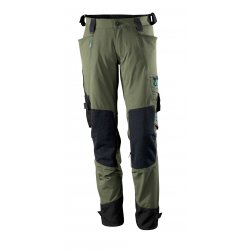 Mascot ADVANCED Trousers with kneepad pockets - Moss Green