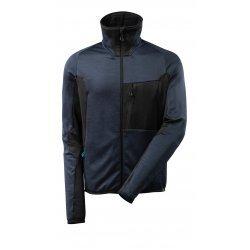 Mascot ADVANCED Fleece Jumper with zipper - Dark Navy/Black