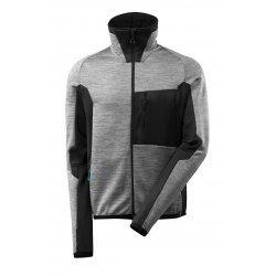 Mascot ADVANCED Fleece Jumper with zipper - Grey Toned/Black