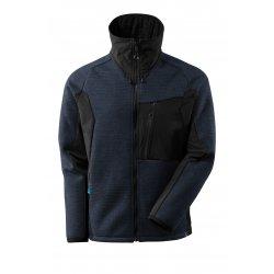 Mascot ADVANCED Knitted Jacket with zipper - Dark Navy/Black