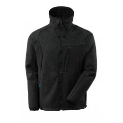 Mascot ADVANCED Knitted Jacket with zipper - Black