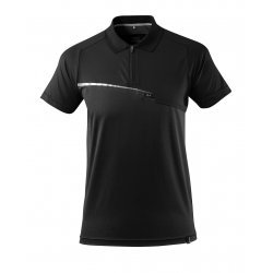 Mascot ADVANCED Polo Shirt with chest pocket - Black