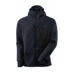 Mascot ADVANCED Hoodie with zipper - Dark Navy/Black