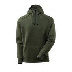 Mascot ADVANCED Hoodie with half zip - Moss Green/Black