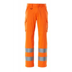 Mascot SAFE LIGHT Trousers with thigh pockets - Hi-Vis Orange