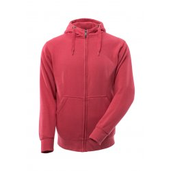 Mascot CROSSOVER Hoodie with zipper - Raspberry Red