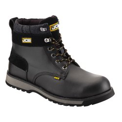 JCB 5CX Black Safety Boots