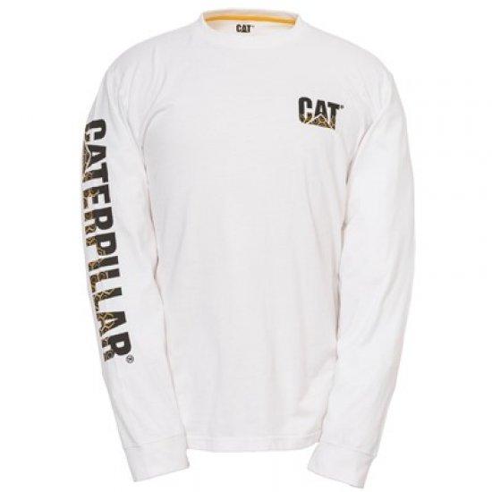 CAT 1510317 Custom Banner Long Sleeve T-Shirt