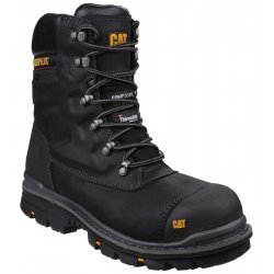 CAT Premier Black Safety Boots