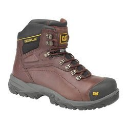 CAT Diagnostic Brown Safety Boots