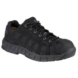 CAT Switch Black Safety Trainers