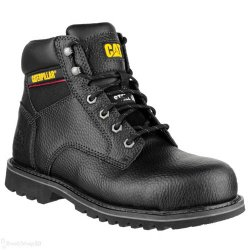 CAT Electric Black Safety Boots