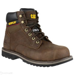CAT Electric Brown Safety Boots