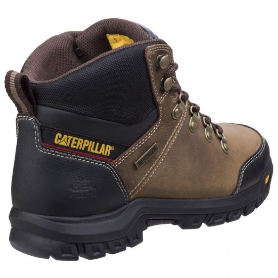 CAT Framework Brown Safety Boots