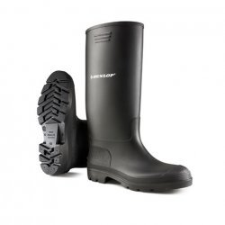 Dunlop 380PP Pricemaster Black Safety Wellingtons