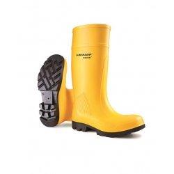 Dunlop D462241 Purofort Yellow Safety Wellingtons